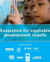 Evaluation for equitable development results